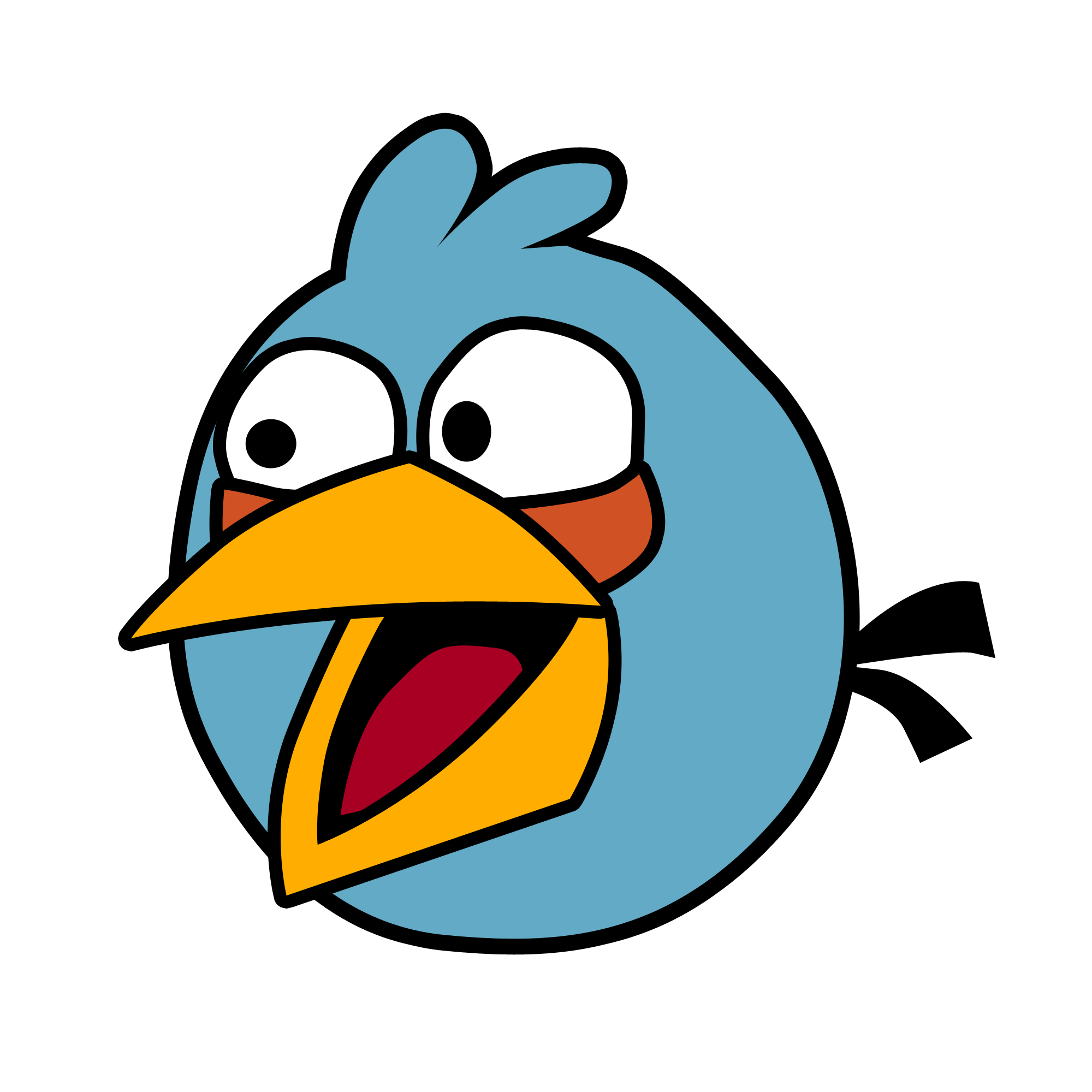 Angry Birds - Blue Bird by DarrenTaxi on DeviantArt