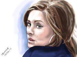 Adele Digital Drawing