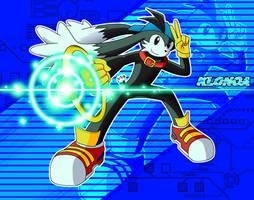 Klonoa in Sonic style by McKimson