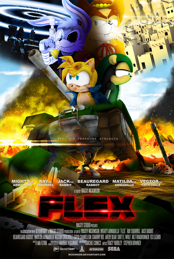 Mighty 'FLEX' Armadillo by McKimson