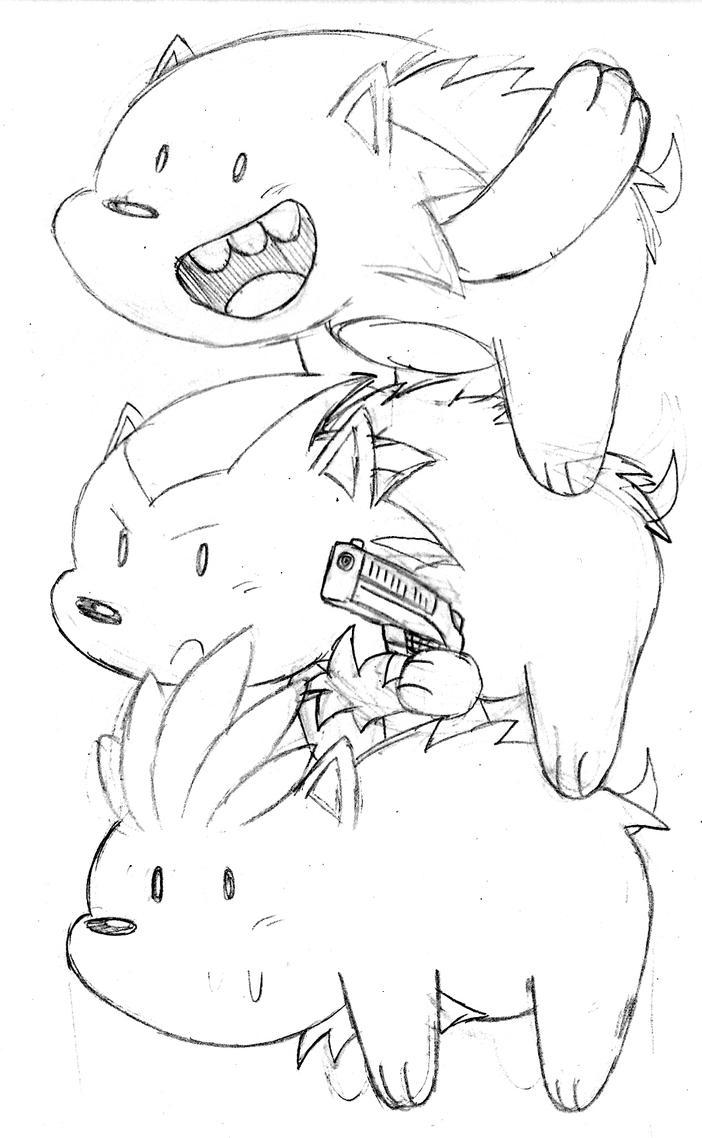 sketch-we bare hedgehog by McKimson