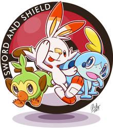 Sword and Shield Trio