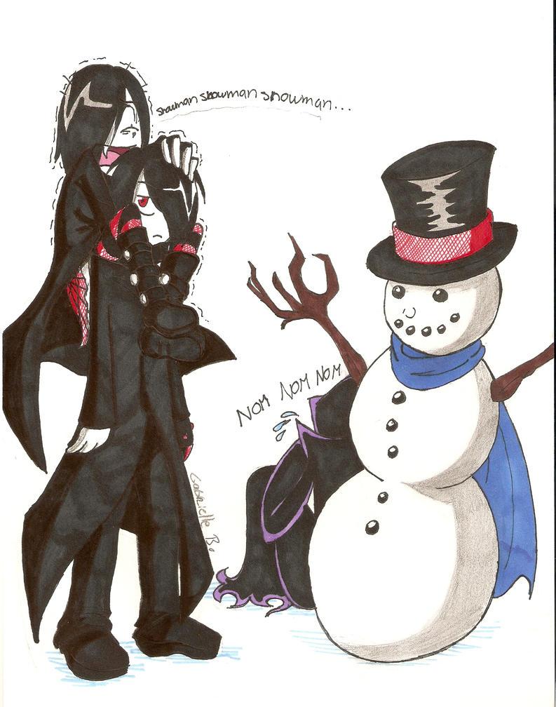 SnowMAYUN fear by PhantomeDiclonius