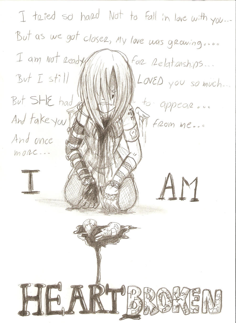 Emo Heartbroken Drawings Preview