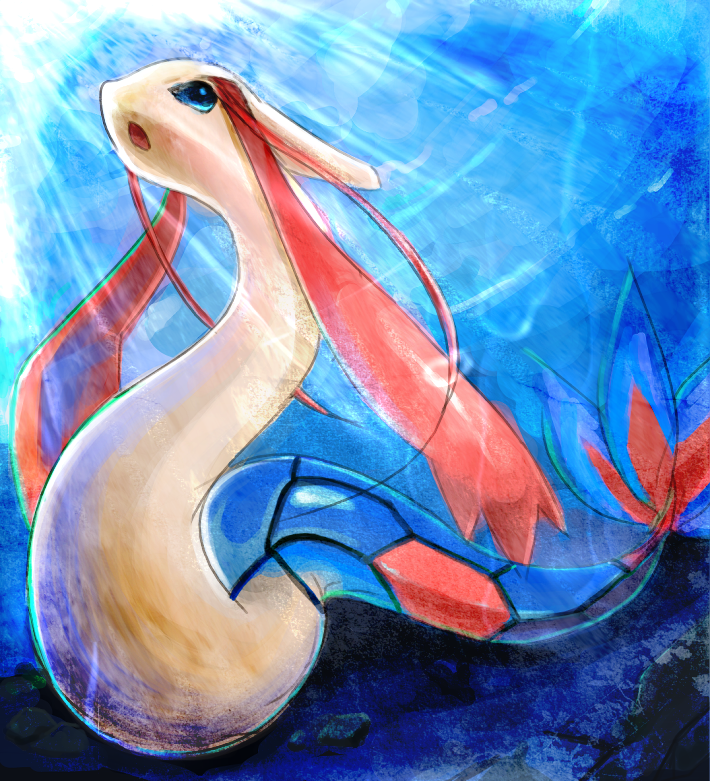 Solilo's Characters - Inventory and Info Poketmon_Milotic_by_28140