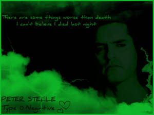 Peter Steele Background vol 1