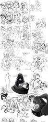 South Park Doodle Dump 01 by sketchersocks