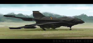 TC 133 Aerial Assault Vehicle by fruktsallad