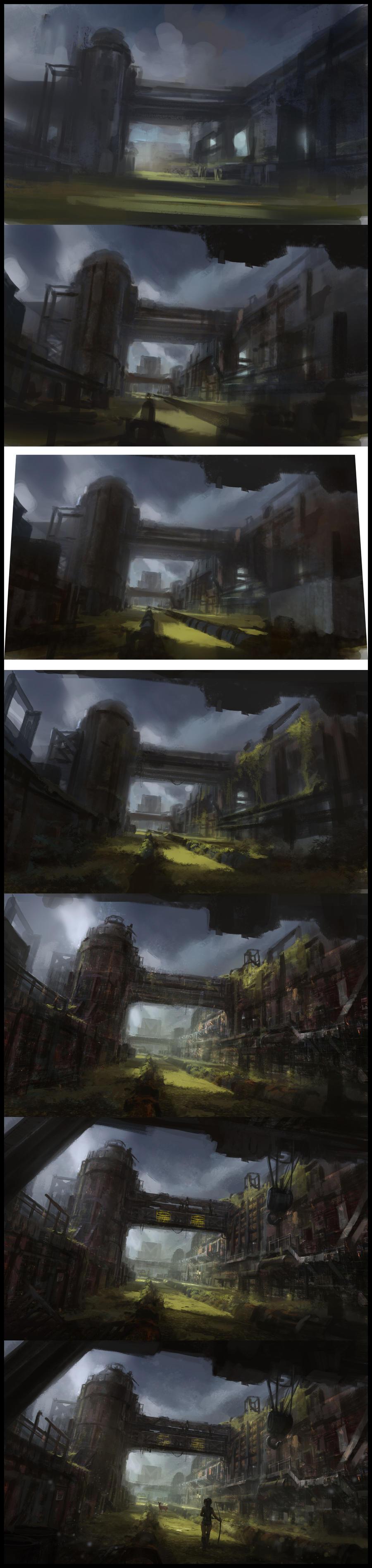 Steps: Factory by fruktsallad