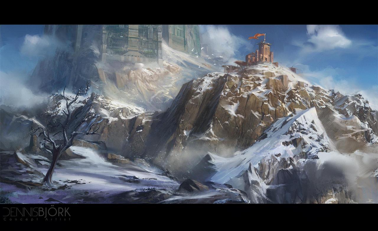 Snowy outpost by fruktsallad