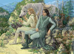 Glorfindel and Ecthelion