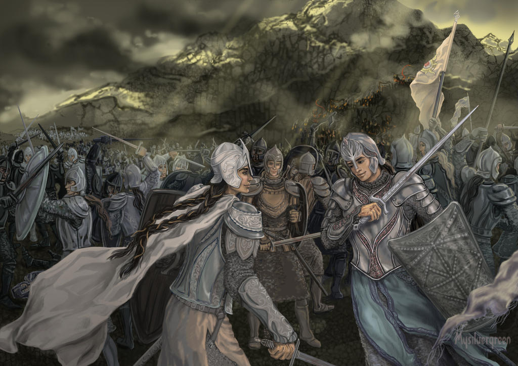 The Battle of Unnumbered Tears by Mysilvergreen
