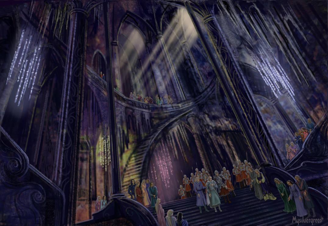 Nargothrond - the Hidden Kingdom of Finrod by Mysilvergreen