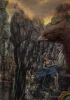The Rescue of Maedhros by Mysilvergreen