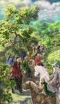 Leaving Hobbiton