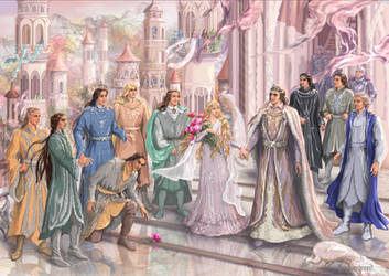 Gondolin party by Mysilvergreen