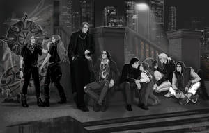 The Sons of Feanor (modern AU) by Mysilvergreen