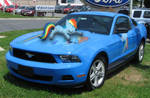 Rainbow Dash Ford Mustang