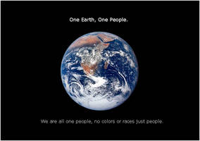 One Earth One People by roninbearz