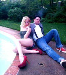 Greaser Guys and Pin-Up Girls