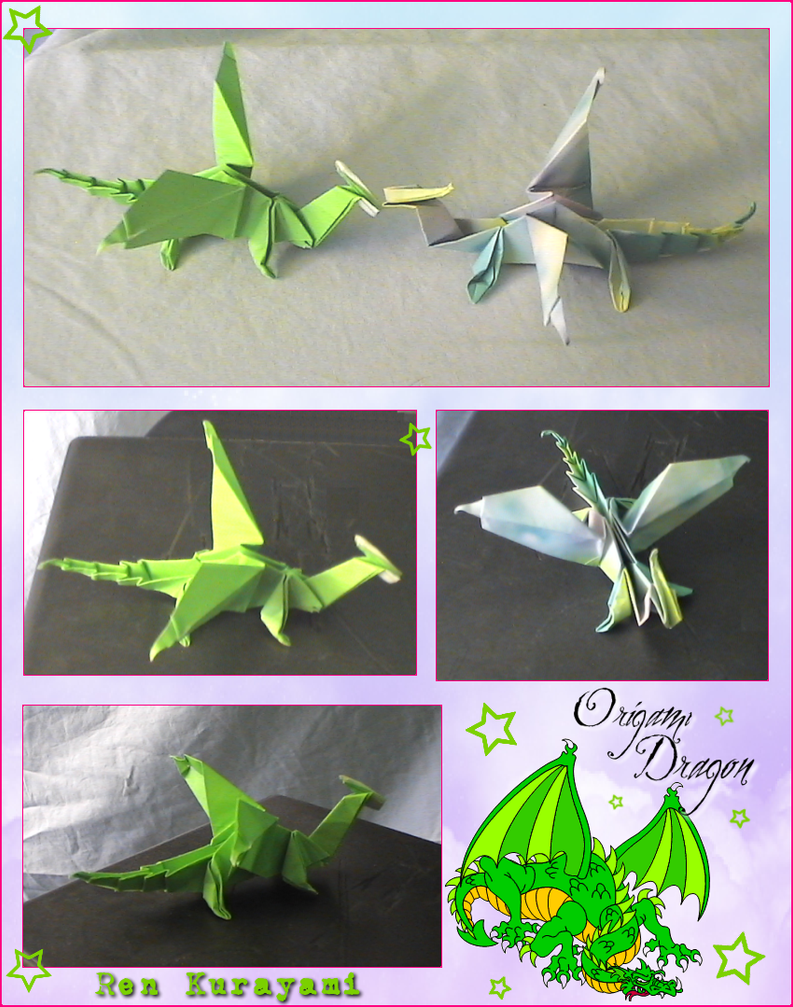 Origami Love- Dragon by RKdesign1314