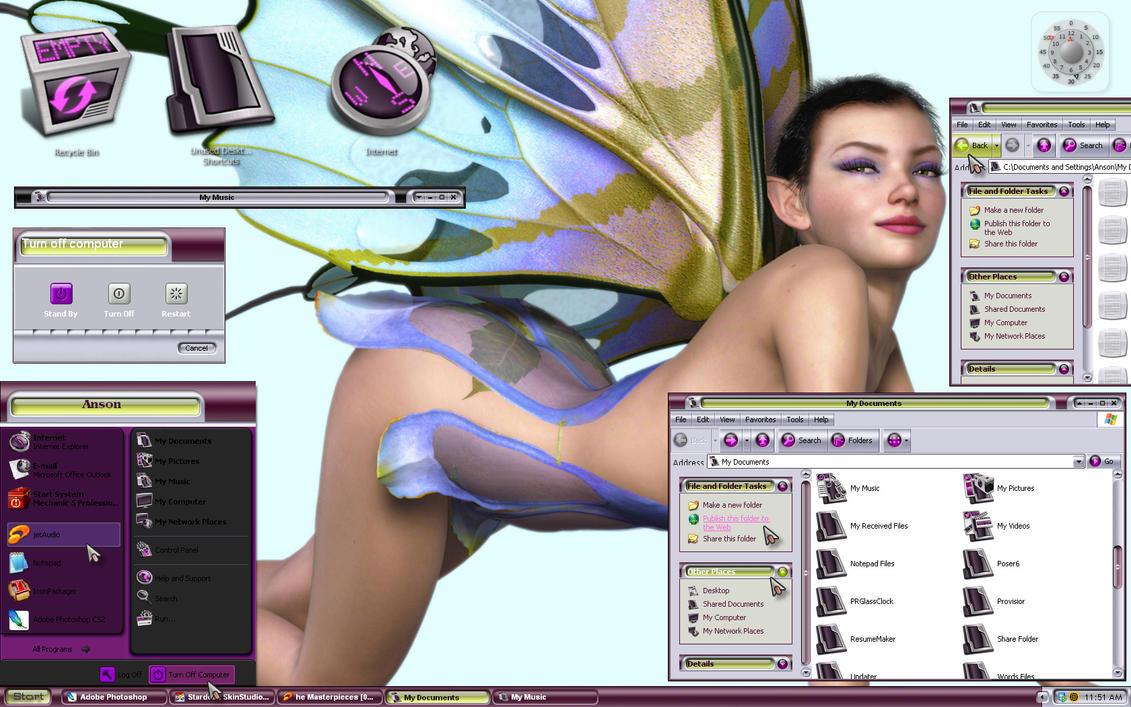 NVidia - Purple Rain by TheHeadmaster