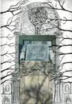 terrible pathetic gothic graveyard collage