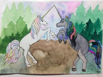 Fantasy Unicorns  by elfenscheisse