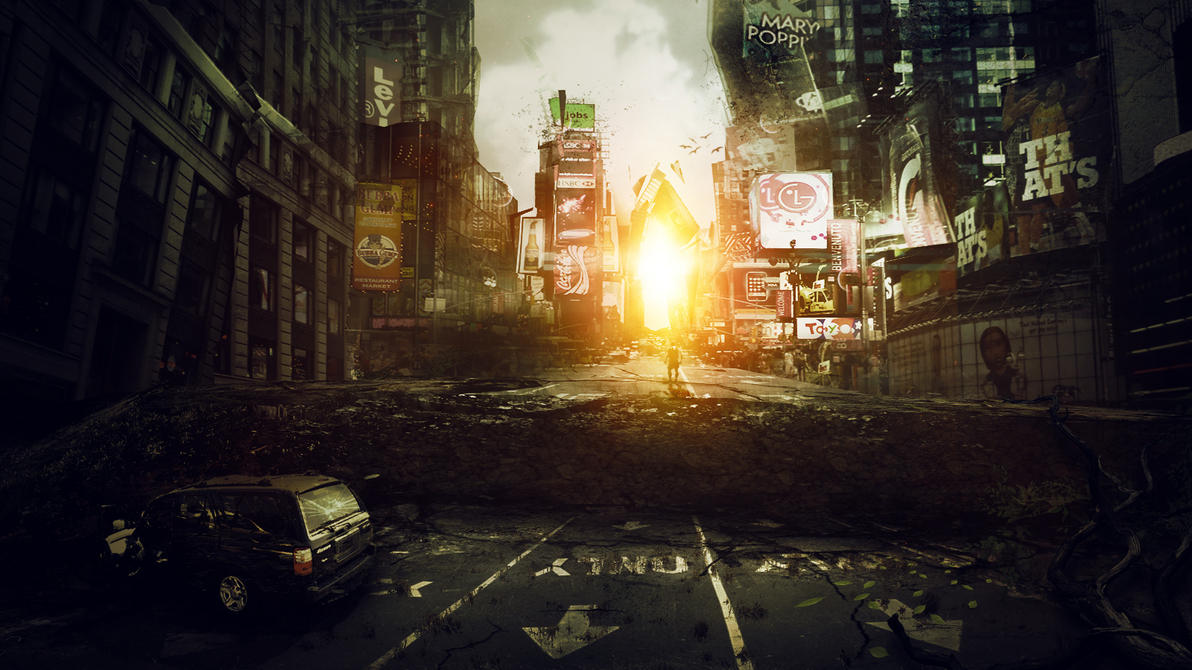 I am Legend Tim   I Am Legend Background