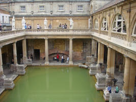Roman Baths by griffin-girl