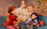 Big happy Super family