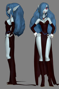 Sorceress from Wreck-it Ralph (Concept Art #2)