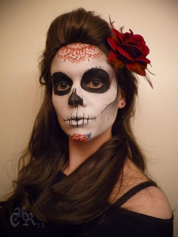 Sugar Skull Makeup by CaseyAlexandra on DeviantArt