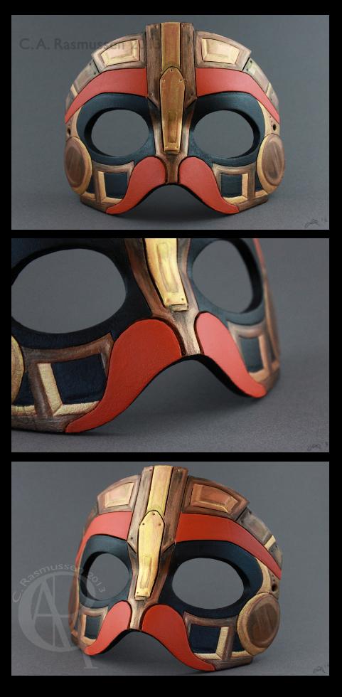 Hatchworth Mask by CaseyAlexandra