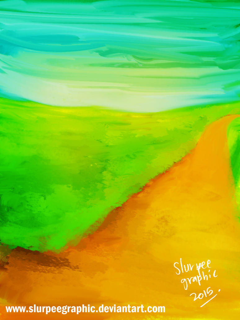 green land by slurpeegraphic