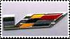 Cadillac V Stamp by DaftRyosuke