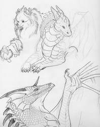 Sketches 2007 by Dragonmistral