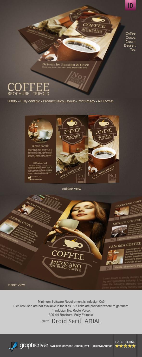 Coffee Brochure Mexicano