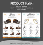 Shoe shop Flyer Design