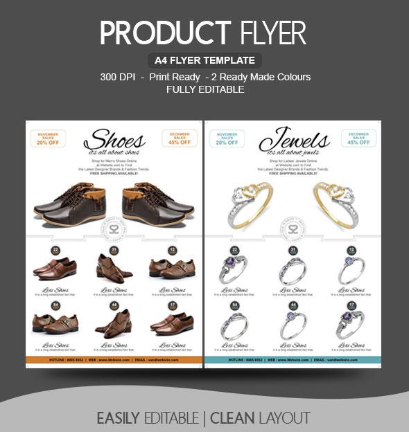 Shoe shop Flyer Design by BloganKids