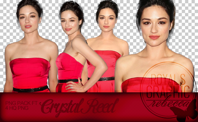 Crystal Reed PNG pack nahad by RetrospectiveGraphic