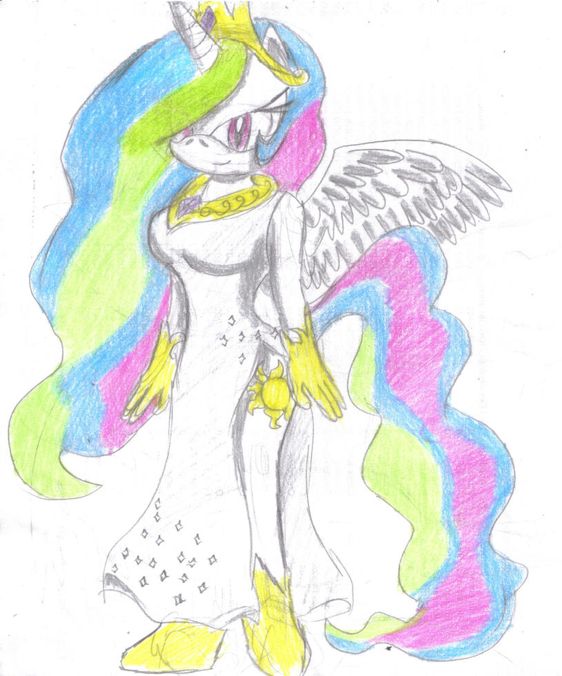 Celestia- Sonic Style by JCMX