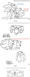 Dumb Sonic, Shadow and Sonadow Comics by JCMX