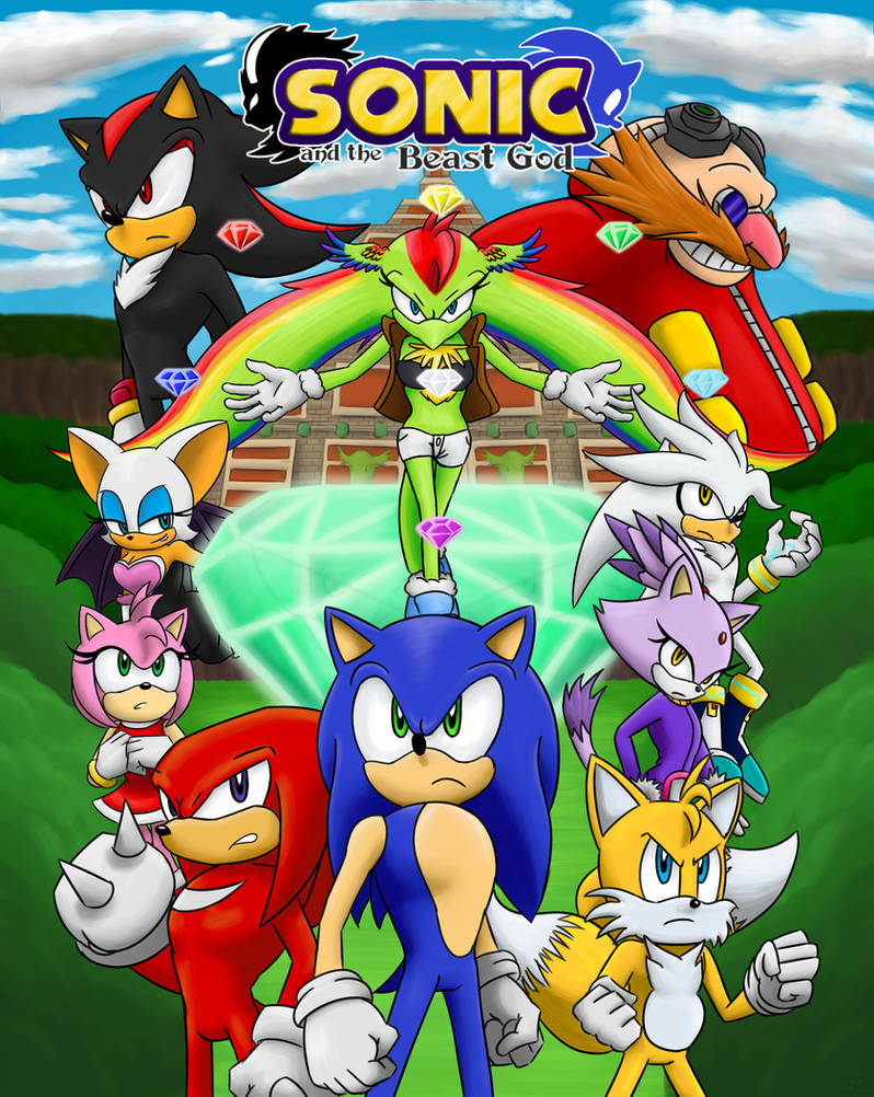 Sonic and The Beast God Promo Poster