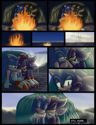 Sonadow Week 20 - Day 6 - Warmth and Flames