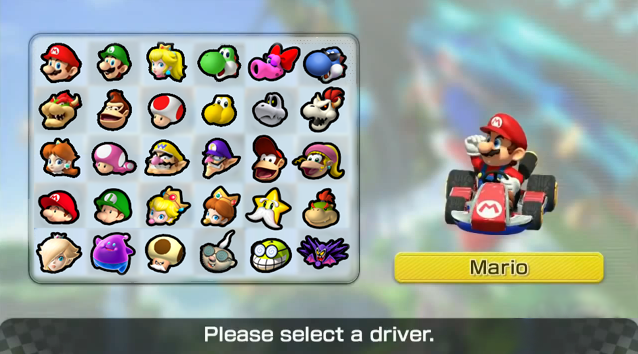 Mario Kart 8 Another Roster By Fawfulthegreat64 On Deviantart