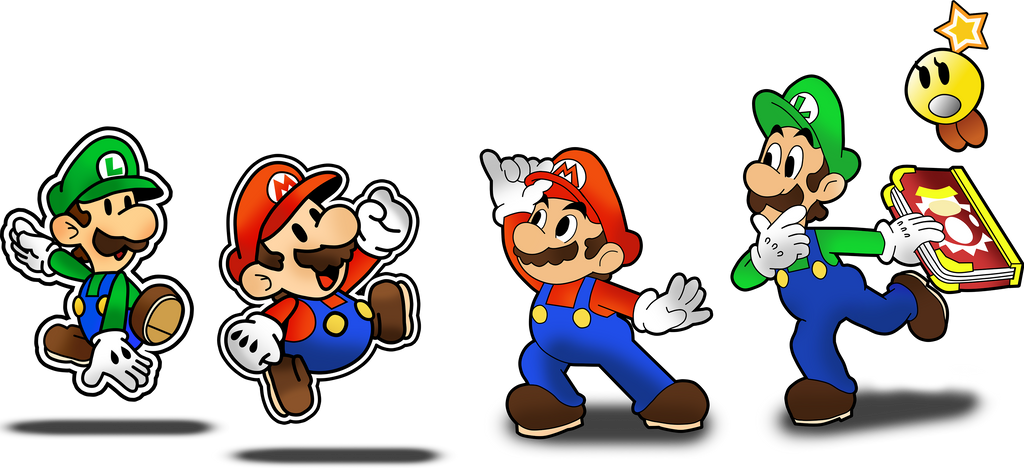 Mario And Luigi Paper Jam By Fawfulthegreat64 On Deviantart