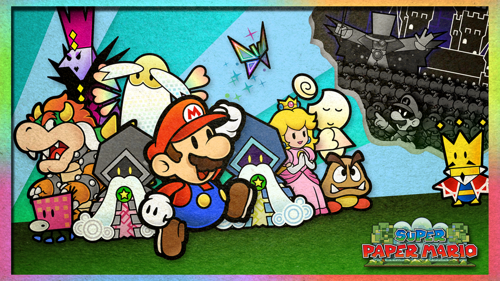 Super Paper Mario Wallpaper By Fawfulthegreat64