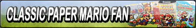 Classic Paper Mario Fan Button by Fawfulthegreat64