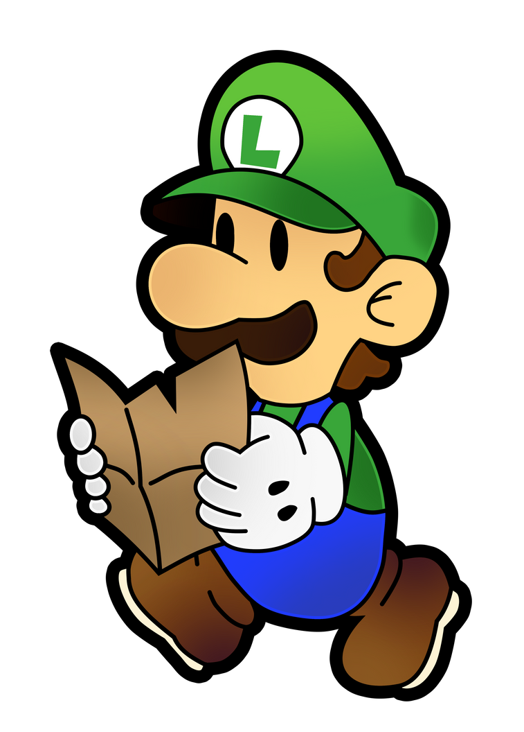 paper luigi Paper luigi is the opposite version of luigi unlike paper mario, he is a villain and kicks ass he has dominated all of paper europe he is the most wanted criminal.